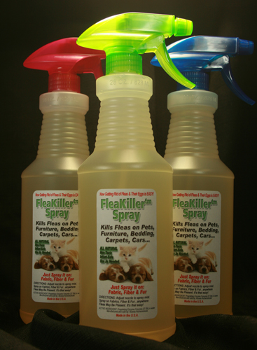 FleaKiller Flea Spray 3 Pack